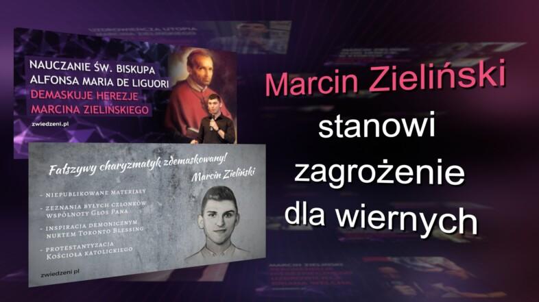 Kolejne osoby podejmują temat zagrożenia związanego z działalnością Marcina Zielińskiego.