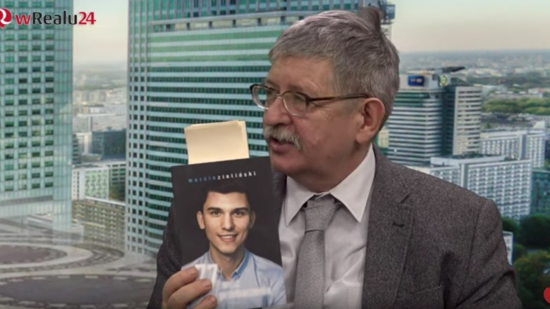 O tym kto stoi za Marcinem Zielińskim rozmawialiśmy w programie Stanisława Krajskiego